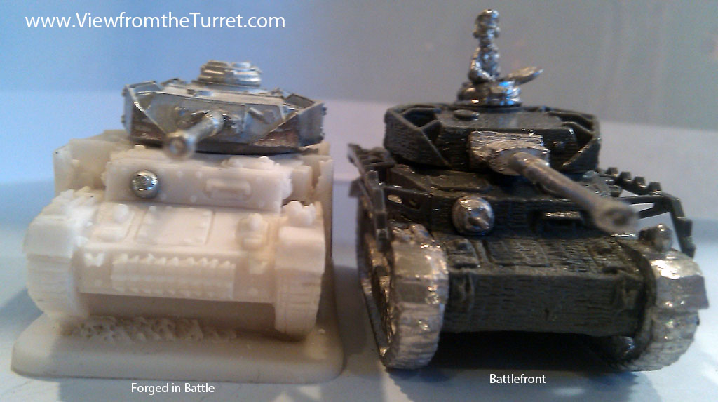 Forged in Battle Miniatures — Review « The View from the Turret