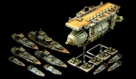 Dystopian Wars - Prussian Empire Fleet