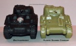 Sherman PSC and BF Front Compare