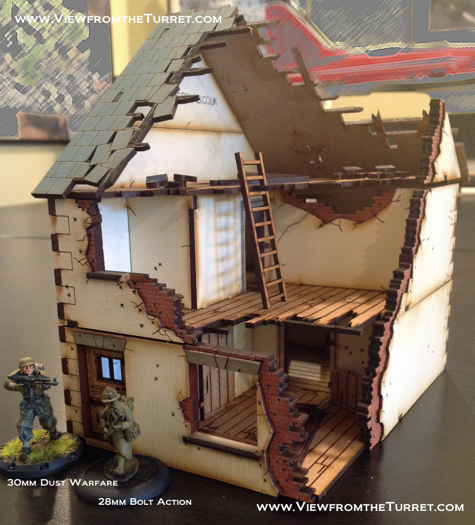 4Ground 28mm Buildings — Review « The View from the Turret