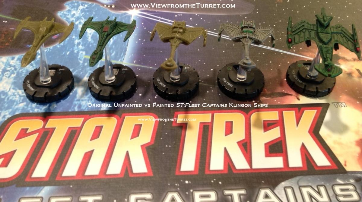 ST:FC Klingon Ships