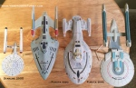 Furuta Star Trek Ships