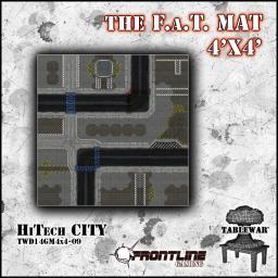 Hi-Tech City Mat